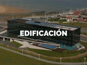 Soltec, Trabajos en edificación