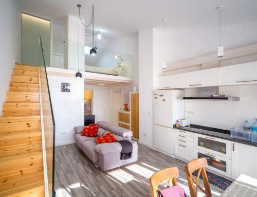 Reforma integral del apartamento en Luanco