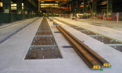Construcción de cimentación para DF calderería pesada