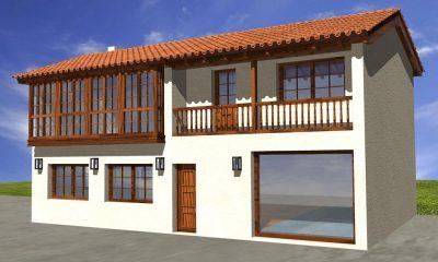 Construcción de vivienda unifamiliar en Naveces