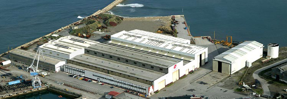 Refuerzo estructural en naves, cliente Grupo Duro Felguera