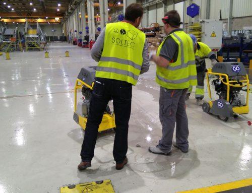 Reforma de linea de producción de escaleras mecánicas en la fábrica de Thyssenkrupp Norte