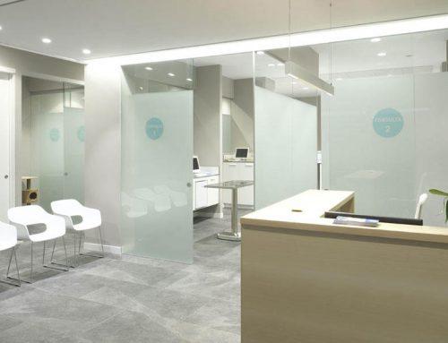 Reforma y adecuación de local comercial para clínica Veterinaria en Villaviciosa, Asturias.