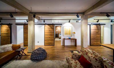 Soltec, reforma de vivienda en Gijón, salón y habitaciones
